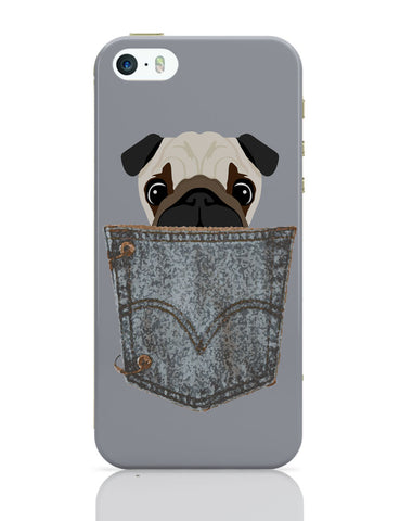 iPhone 5 / 5S Cases & Covers | Pug iPhone 5 / 5S Case Online India