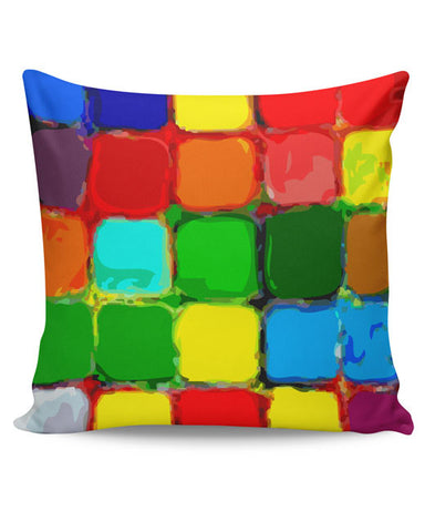 PosterGuy | Paint Palette Cushion Cover Online India