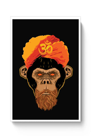 Posters Online | Stoned Monkey Poster Online India | Designed by: Vaibhav Designs