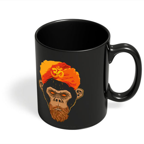 Coffee Mugs Online | Stoned Monkey Black Coffee Mug Online India