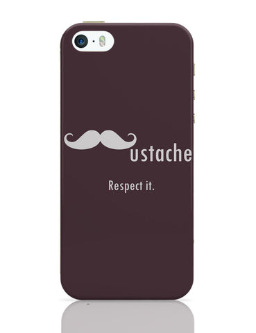 iPhone 5 / 5S Cases & Covers | Mustache iPhone 5 / 5S Case Online India