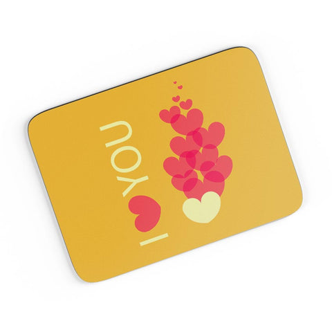 I Love You A4 Mousepad Online India