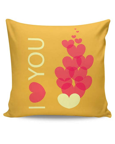 PosterGuy | I Love You Cushion Cover Online India
