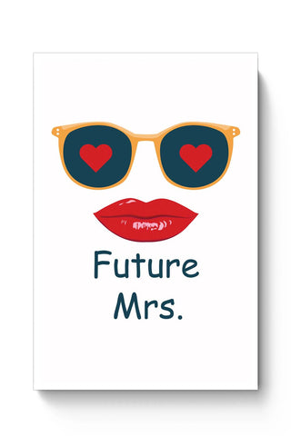 Posters Online | Future Mrs Poster Online India | Designed by: Vaibhav Designs