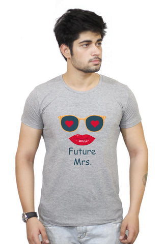 Buy Future Mrs T-Shirts Online India | Future Mrs T-Shirt | PosterGuy.in