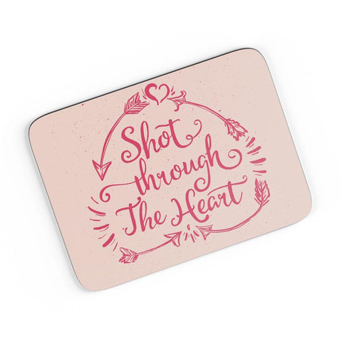 Short Through The Heart A4 Mousepad Online India