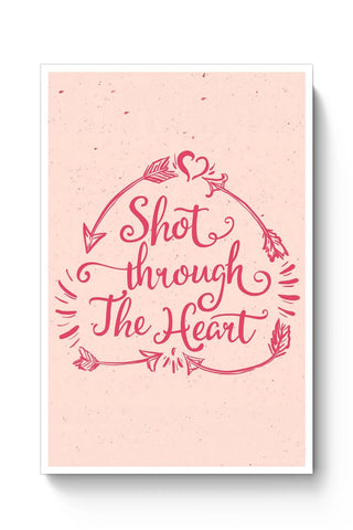 Posters Online | Short Through The Heart Poster Online India | Designed by: Vaibhav Designs