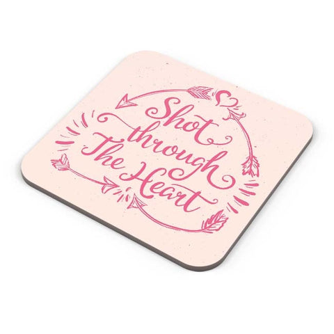 Buy Coasters Online | Short Through The Heart Coaster Online India | PosterGuy.in