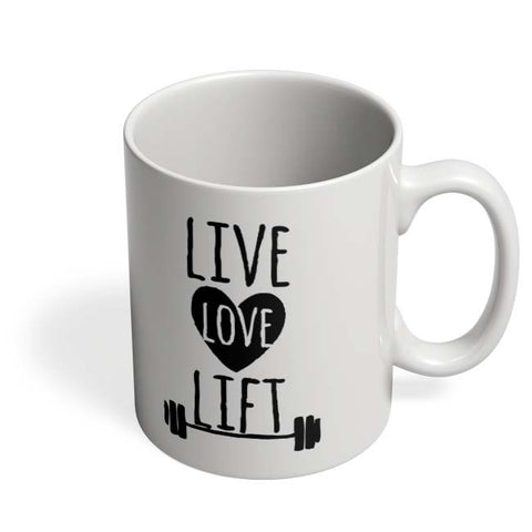 Coffee Mugs Online | Live Love Lift Coffee Mug Online India