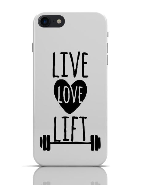 Live Love Lift iPhone 7 Covers Cases Online India