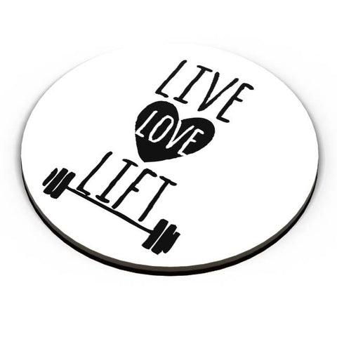 PosterGuy | Live Love Lift Fridge Magnet Online India by Vaibhav Designs