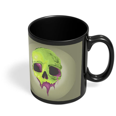 Coffee Mugs Online | Liquid Skull Black Coffee Mug Online India