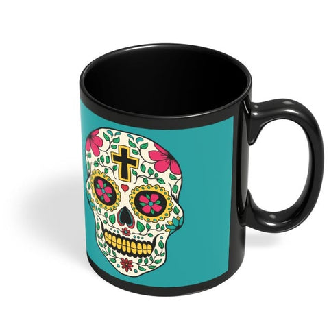 Coffee Mugs Online | Skull Tattoo Black Coffee Mug Online India