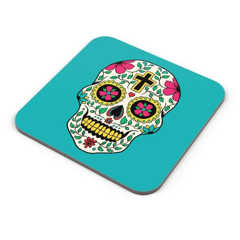Buy Coasters Online | Skull Tattoo Coasters Online India | PosterGuy.in