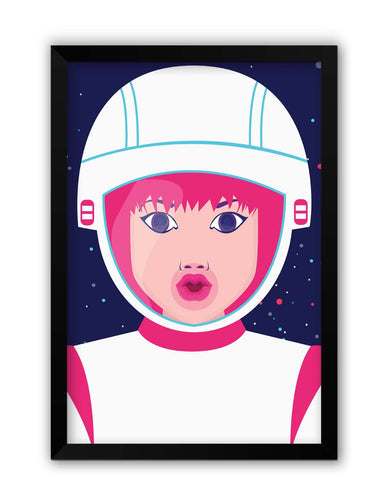 Framed Posters | You Are My Universe Laminated Framed Poster Online India