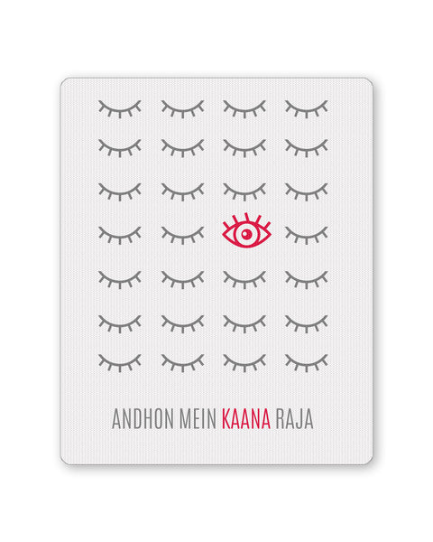 Buy Mousepads Online India | Andhon mei Kaana Raja Mouse Pad Online India