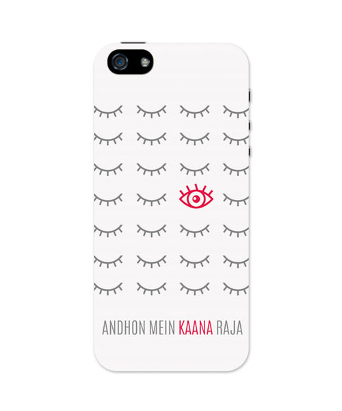 iPhone 5 / 5S Cases & Covers | Andhon mei Kaana Raja iPhone 5 / 5S Case Online India