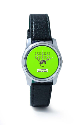 Women Wrist Watch India | Bandar | To Kya Jaane Adrak Ka Swaad Wrist Watch Online India