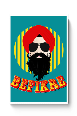 Posters Online | Befikre Poster Online India | Designed by: Harpreet
