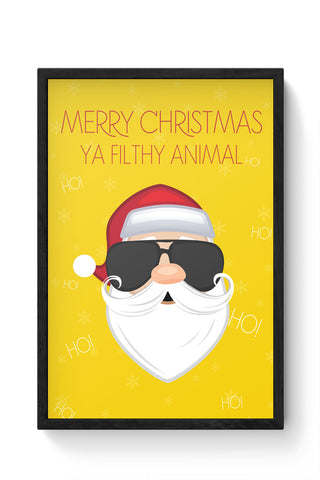 Framed Posters Online India | Christmas Laminated Framed Poster Online India