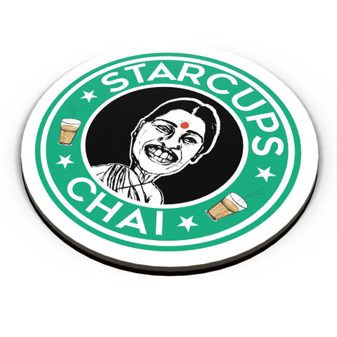 PosterGuy | Starcups Chai Fridge Magnet Online India by Harpreet