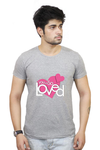 Buy So Loved T-Shirts Online India | So Loved T-Shirt | PosterGuy.in
