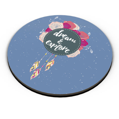 PosterGuy | Dream And Explore Fridge Magnet Online India by Harpreet