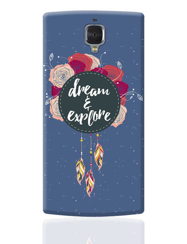 Dream And Explore OnePlus 3 Cover Online India