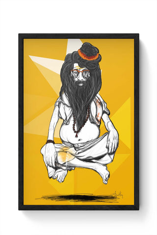 Framed Posters Online India | Nirvana Laminated Framed Poster Online India