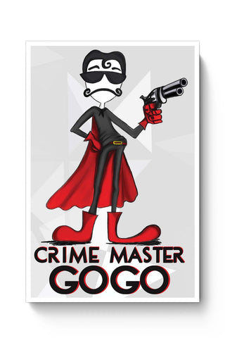 Posters Online | Crime Master Gogo Poster Online India | Designed by: Harpreet