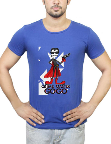 Buy Crime Master Gogo T-Shirts Online India | Crime Master Gogo T-Shirt | PosterGuy.in