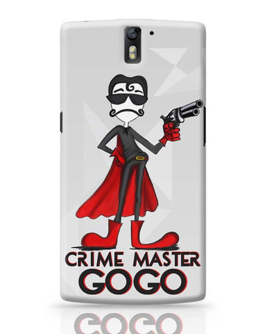 OnePlus One Covers | Crime Master Gogo OnePlus One Case Cover Online India