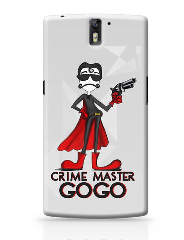 OnePlus One Covers | Crime Master Gogo OnePlus One Cover Online India