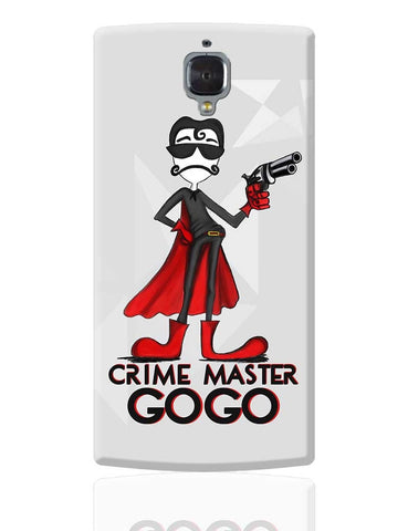Crime Master Gogo OnePlus 3 Cover Online India