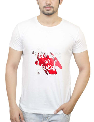 Buy You Are Loved T-Shirts Online India | You Are Loved T-Shirt | PosterGuy.in