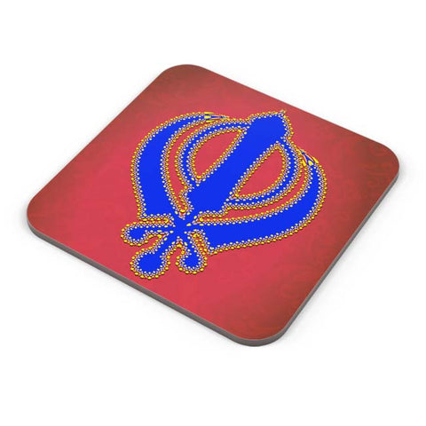 Buy Coasters Online | Khanda Coaster Online India | PosterGuy.in