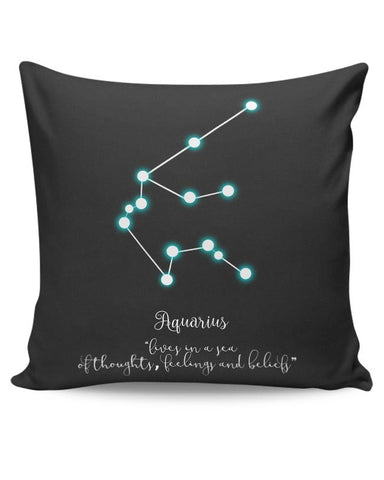 PosterGuy | Aquarius Cushion Cover Online India