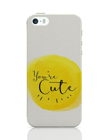 iPhone 5 / 5S Cases & Covers | You're cute iPhone 5 / 5S Case Cover Online India