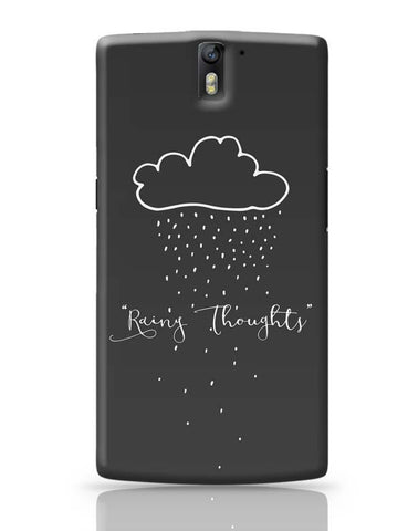 Rainy Thoughts OnePlus One Covers Cases Online India