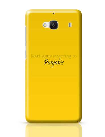 Xiaomi Redmi 2 / Redmi 2 Prime Cover| T Point AKA Chai-Di-Jagah | Road Sign for Punjabi Redmi 2 / Redmi 2 Prime Cover Online India