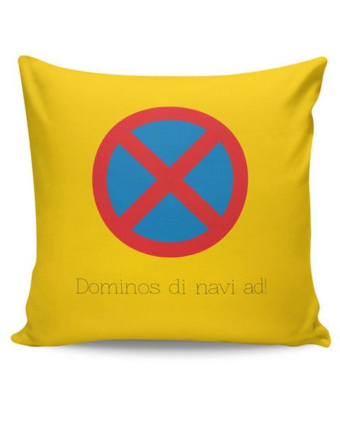PosterGuy | Dominos The Navi Ad | Road Signs For Punjabis Cushion Cover Online India