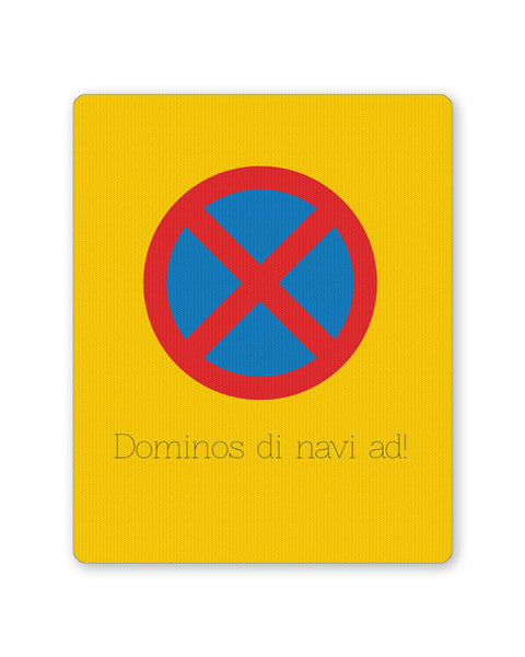 Buy Mousepads Online India | Dominos The Navi Ad | Road Signs For Punjabis Mouse Pad Online India