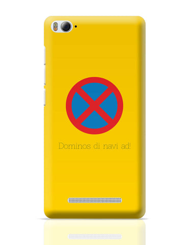 Xiaomi Mi 4i Covers | Dominos The Navi Ad | Road Signs For Punjabis Xiaomi Mi 4i Cover Online India
