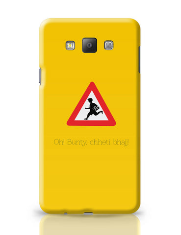 Samsung Galaxy A7 Covers | Oh Bunty! Chetti Bhajj | Road Signs For Punjabis Samsung Galaxy A7 Covers Online India