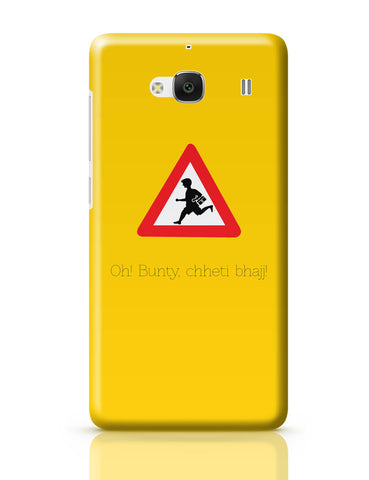 Xiaomi Redmi 2 / Redmi 2 Prime Cover| Oh Bunty! Chetti Bhajj | Road Signs For Punjabis Redmi 2 / Redmi 2 Prime Cover Online India