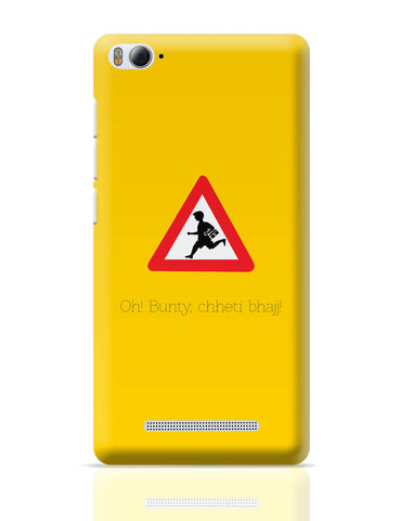 Xiaomi Mi 4i Covers | Oh Bunty! Chetti Bhajj | Road Signs For Punjabis Xiaomi Mi 4i Cover Online India