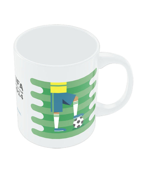 FIFA Worldcup 2014 Brazil Field Football Mug