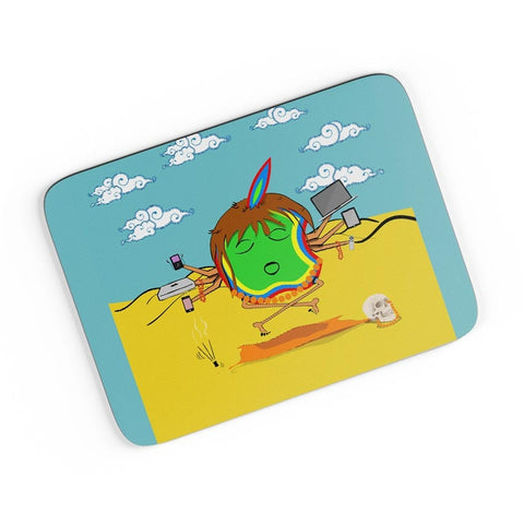 Apple Baba Ki Jai A4 Mousepad Online India