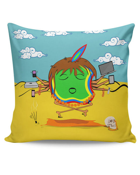 PosterGuy | Apple Baba Ki Jai Cushion Cover Online India