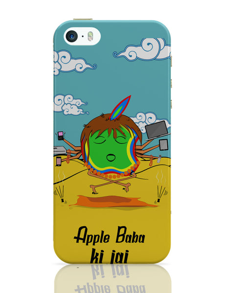 iPhone 5 / 5S Cases & Covers | Apple Baba Ki Jai iPhone 5 / 5S Case Online India